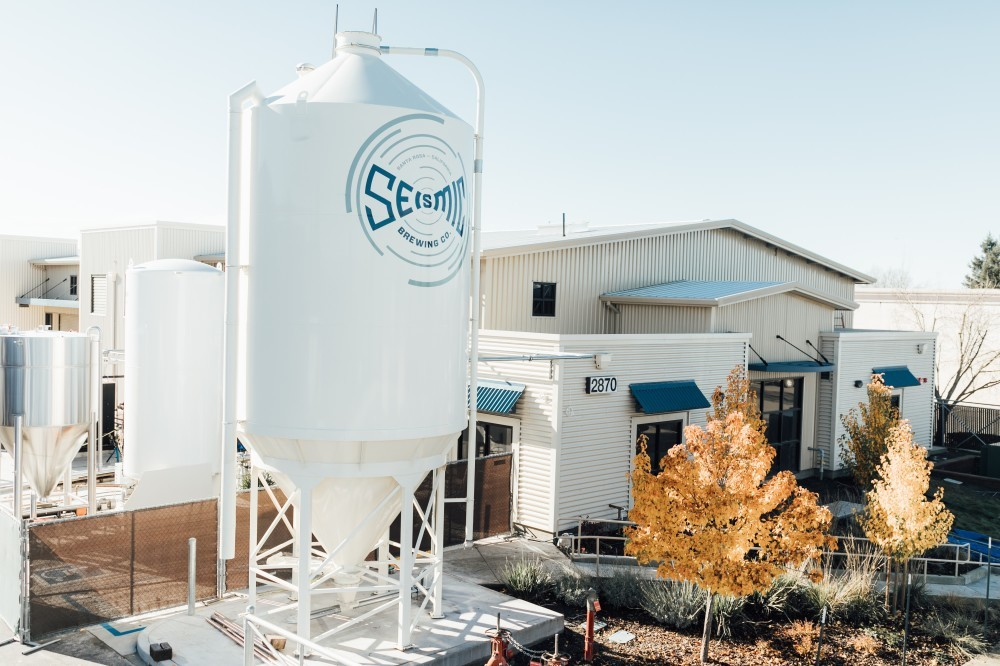 Exterior photo of Seismic Brewery