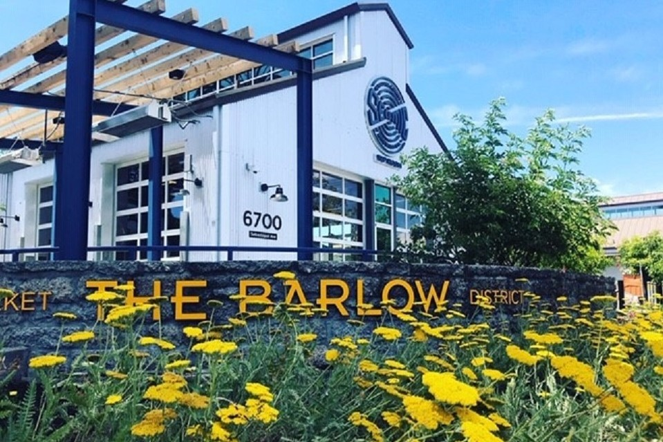 Exterior photo of Barlow taproom